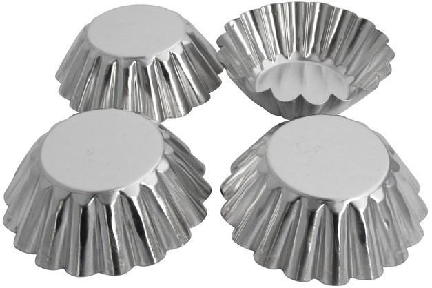 Форма для выпечки нержавеющая Кекс (набор 4 шт)