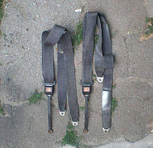 Ремни безопасности неинерционные передние ВАЗ 2121 21213 21214 2131 Нива Тайга комплект бу