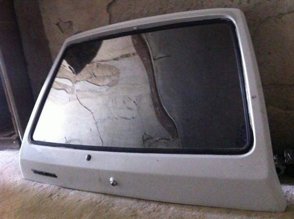 Дверь задка в сборе Таврия ЗАЗ 1102 ляда крышка багажника задняя дверь отл сост бу