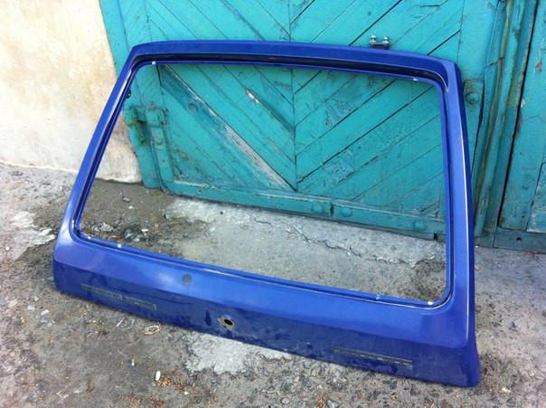 Дверь задка голая Таврия ЗАЗ 1102 ляда крышка багажника задняя дверь отл сост бу