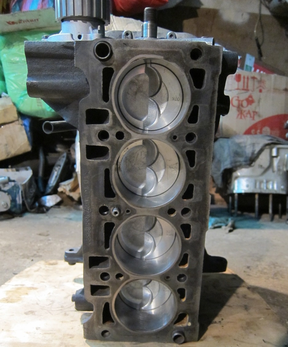 Двигун без ГБЦ 1.3 ЗАЗ 1102 Таврия 1103 Славута 1105 Дана 11055 Пікап Daewoo Sens блок циліндрів у зборі бу