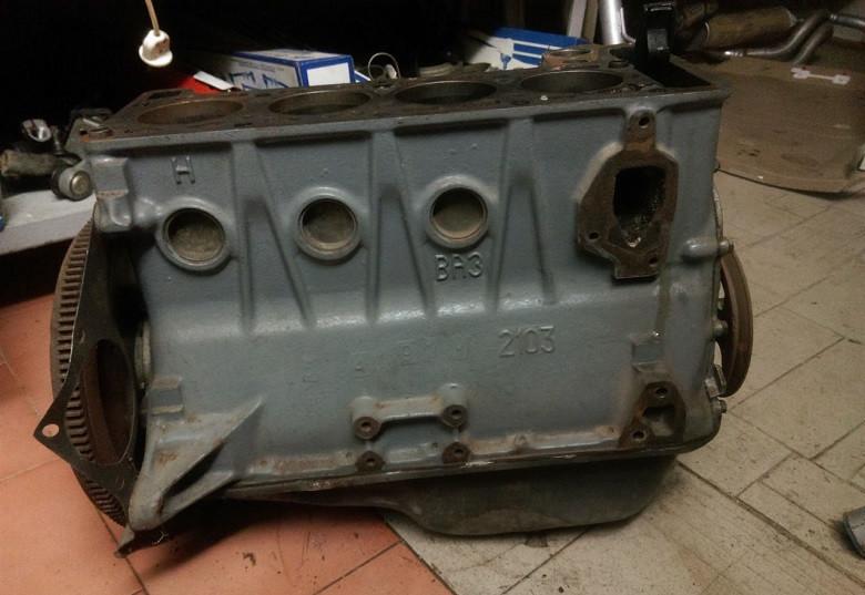 Двигун без ГБЦ ВАЗ 2103 об'єм 1500 ВАЗ 2101 2102 2103 2104 2105 2106 2107 низ мотора 1.5 б у