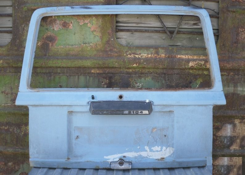 Крышка багажника ВАЗ 2104 ляда дверь задка задняя ср сост бу