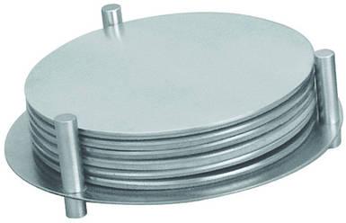 Подставка нержавеющая для чашек Ø 85 мм (набор 7 шт)