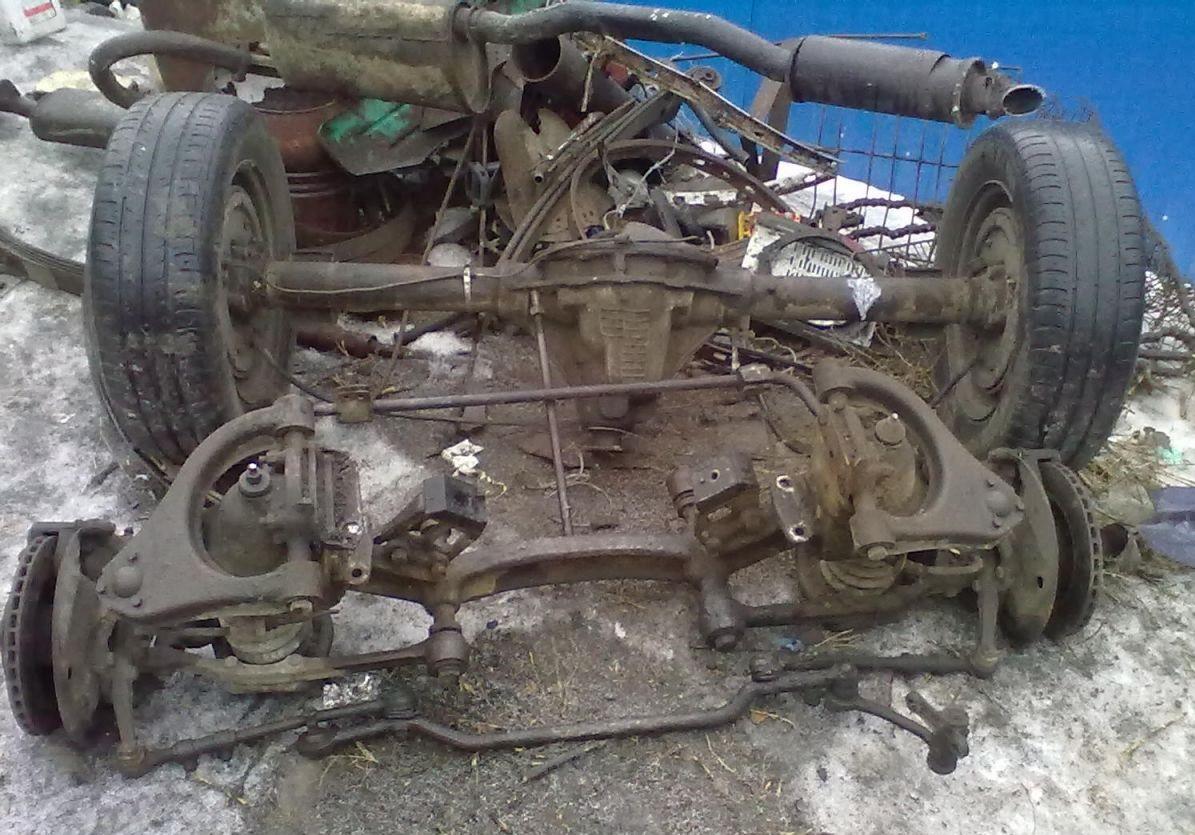 Рычаг нижний ГАЗ Волга 3110 левый бу