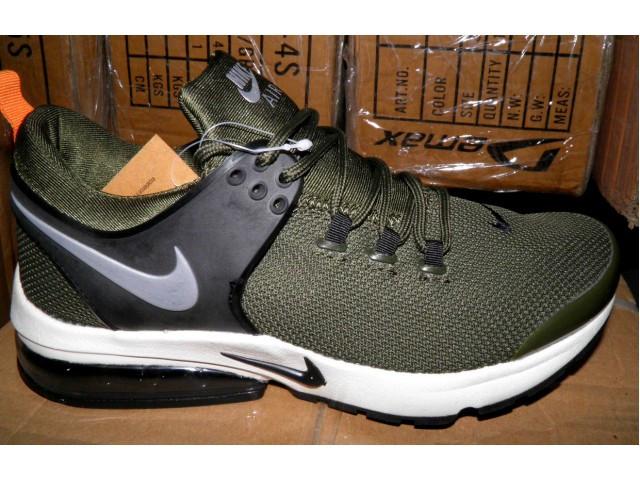 Кроссовки Nike (Реплика) - 941-8 зеленый
