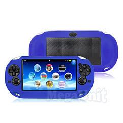 Силиконовый чехол для Sony PS Vita 1000  Синий