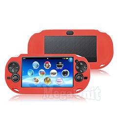 Силиконовый чехол для Sony PS Vita 1000  Красный