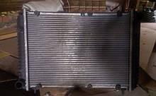 Радиатор охлаждения ГАЗ Волга 3110 карбюраторный алюминиевый бу