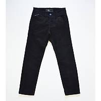 Брюки вельветовые черного цвета для мальчика, A-yugi