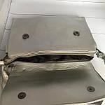 Стильная серебристая сумка - клатч, фото 4