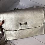Стильная серебристая сумка - клатч, фото 7