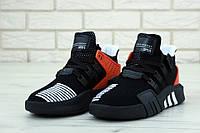 Кроссовки мужские Adidas EQT Bask ADV реплика ААА+, размер 41-45 черный (живые фото), фото 1