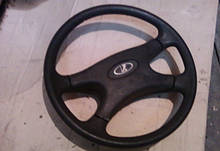 Руль 2107 на ВАЗ 2101 2102 2103 2104 2105 2106 2121 21213 21214 Нива Тайга рулевое колесо нового образца бу