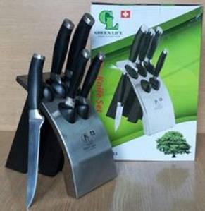 Ножи на металлической подставке (набор 6 шт) GL- 0453 -1