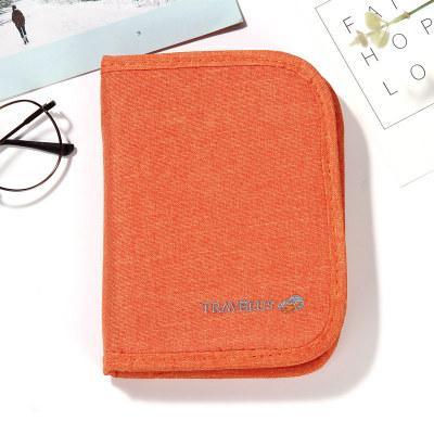 Органайзер для документов маленький Travelus Mini оранжевый 01063/04