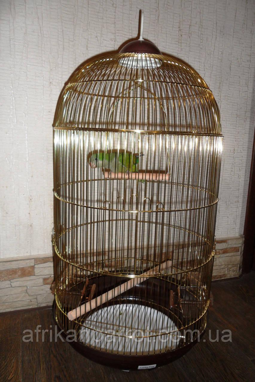 Круглая Клетка для птиц -  48*84,5см