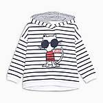 Детская кофта с капюшоном Кот Little Maven