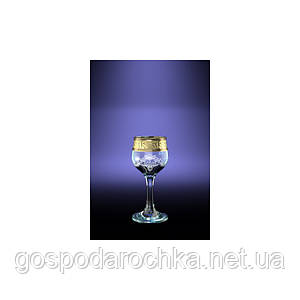 Рюмки набор 55мл / 6шт (Тулип) декор Мускат GE05-164 Гусь Хрустальный