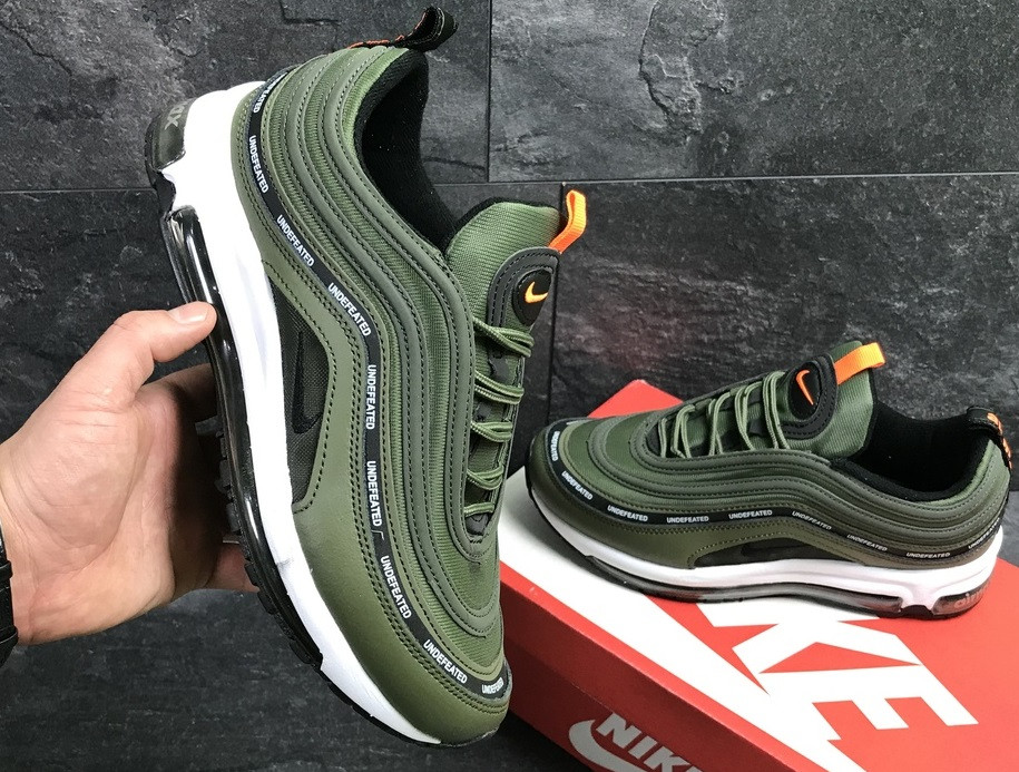 19a1a99b Кроссовки Nike Air Max 97 (зеленые) — в Категории