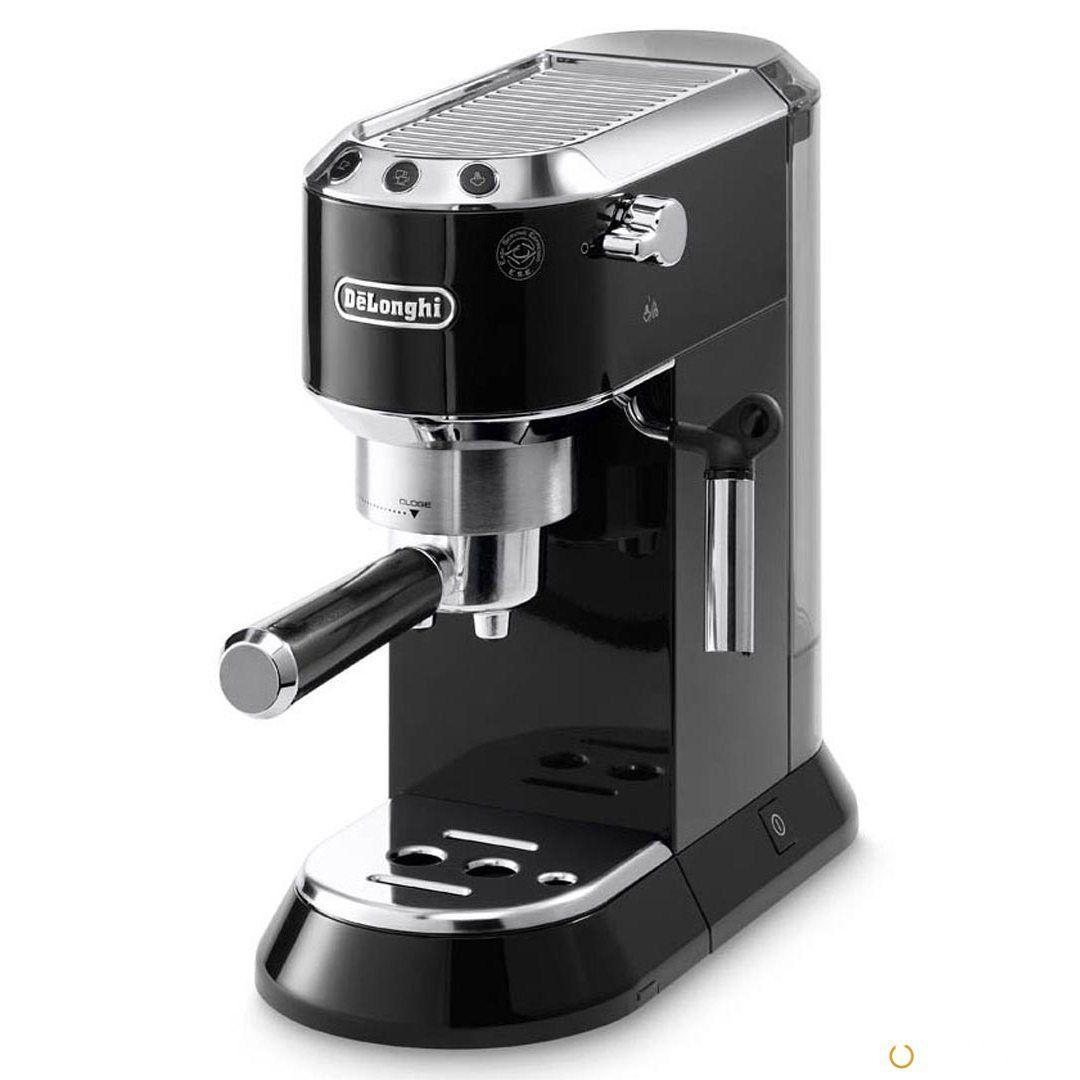 Рожковая кофеварка DeLonghi DEDICA EC 680.BK Black