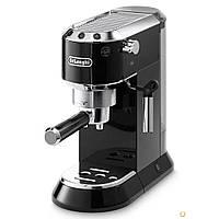 Рожковая кофеварка DeLonghi DEDICA EC 680.BK Black, фото 1
