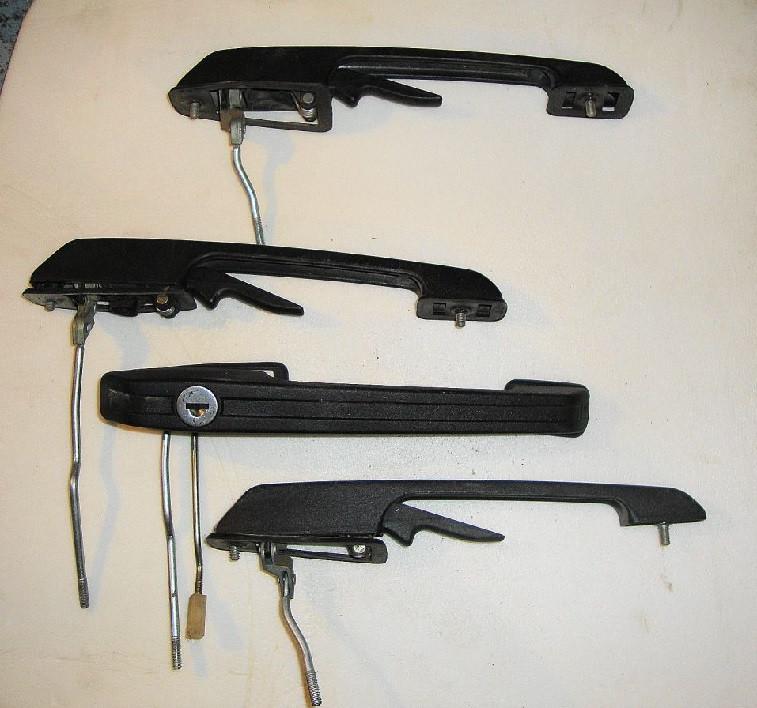 Ручка двери наружная ВАЗ 2109 21099 2114 2115 задняя левая новая