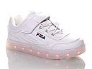 """Кроссовки со светящейся подошвой """"Bessky """" 11 режимов подсветки, USB зарядка Размеры 34, 35, фото 2"""