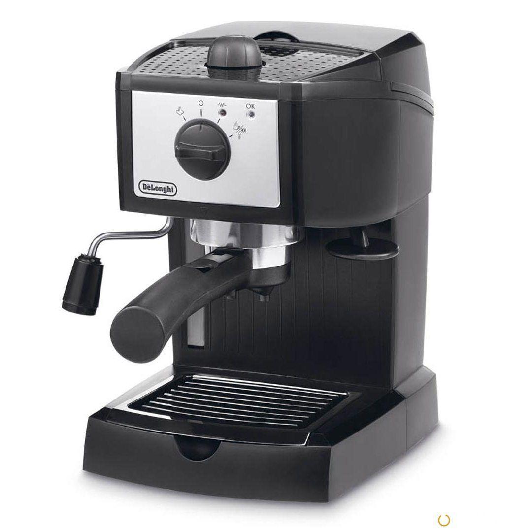 Рожковая кофеварка DeLonghi EC 153.B Black