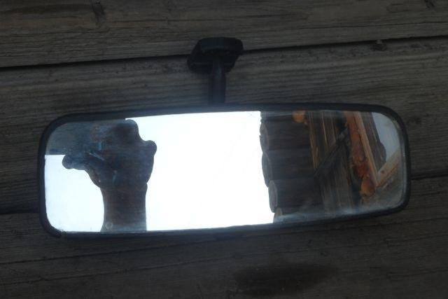 Дзеркало в салон ВАЗ 2110 2111 2112 центральне бу
