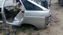 Кузов задняя часть ВАЗ 2112 задок с крышей в сборе бу