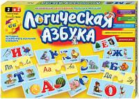 "Игра-пазл ""Логическая азбука"" Danko toys"