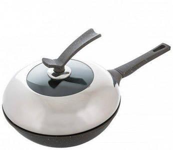 Сковорода Вок с крышкой Ø 280 мм (шт)