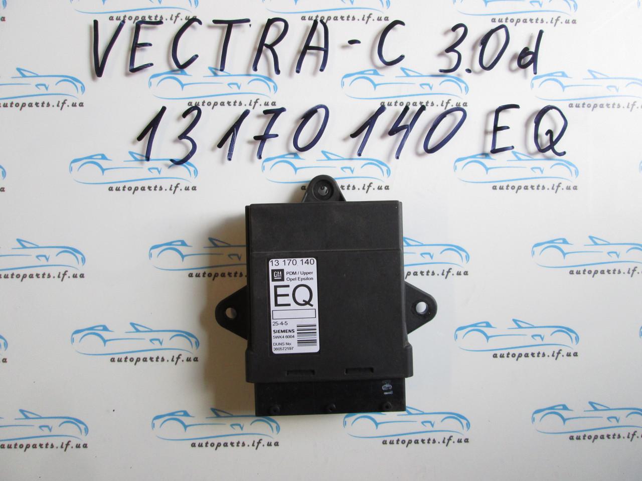 Блок комфорта Опель Вектра С, opel Vectra C 13170140, 5WK46004