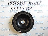 Шкив коленвала Opel Insignia 2.0CDTI, A20DT, 55563401
