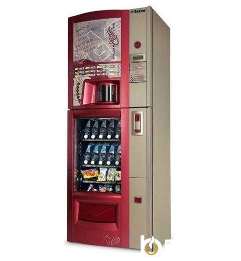 Торговая автоматическая кофемашина Saeco Combi Snack Diamante RED