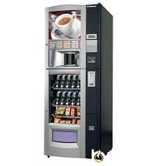 Торговая автоматическая кофемашина Saeco Combi Snack Diamante Black