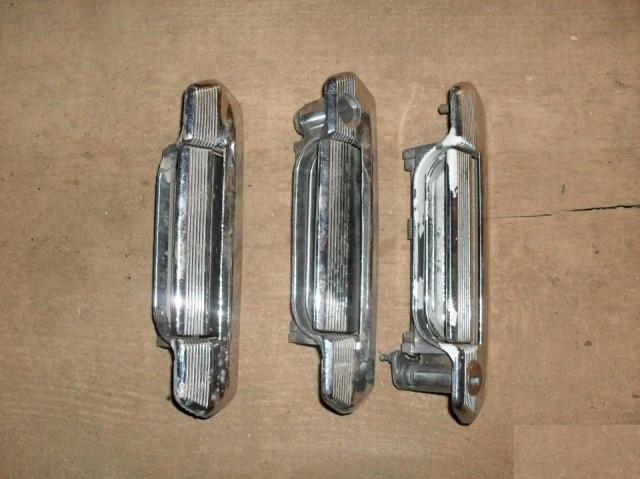 Ручка двери наружная задняя левая ВАЗ 2121 21213 21214 2131 Нива Тайга 2101 2102 2103 2106 бу