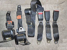 Ремни безопасности инерционные задние ВАЗ 2121 21213 21214 2131 Нива Тайга комплект бу