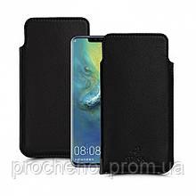 Футляр Stenk Elegance для Huawei Mate 20 Pro Чёрный