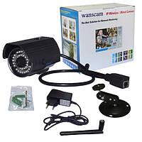 Уличная записывающая Wi-Fi IP HD камера Wanscam HW0027 SD 1280*720