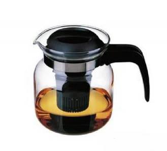 Чайник заварочный Simax 1л термостойкое стекло с фильтром Color Matura s3772/s