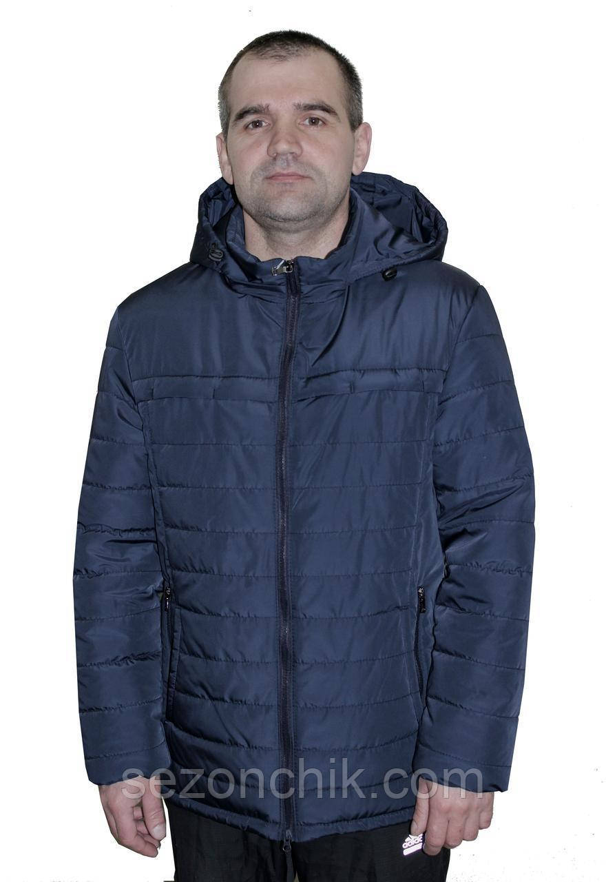 Мужская весенняя куртка с капюшоном от производителя