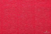 Гофрированная бумага (креп) Cartotecnica Rossi Light Red № 582 Италия