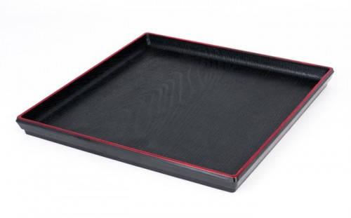 Поднос пластиковый квадратный для сервировки 240*240*20 мм (шт) Empire 1310, фото 2