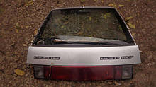 Крышка багажника ВАЗ 2112 дверь задка ляда бу