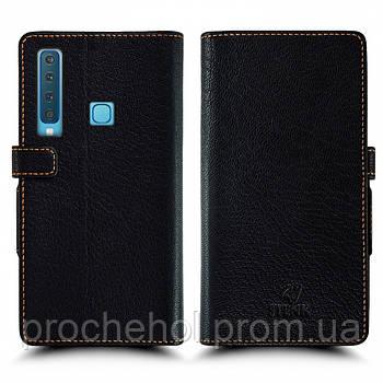 Чехол книжка Stenk Wallet для Samsung Galaxy A9 (2018) Чёрный