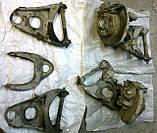Рычаг верхний ВАЗ 2101 2102 2103 2104 2105 2106 2107 передней подвески левый правый с болтом бу, фото 4