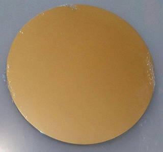 Подложка для торта круглая золотого цвета Ø 240 мм (1уп 20 шт)