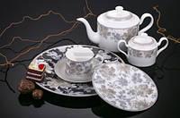 Сервиз для чая Ilona 21 предмет на 6 персон Fiora